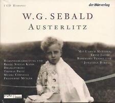 W.G. Sebald-Austerlitz Nouveau Drame ZAPI CD *** absolue RARE! ***