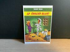 Carte postale Lucky Luke. Le cavalier blanc. MORRIS