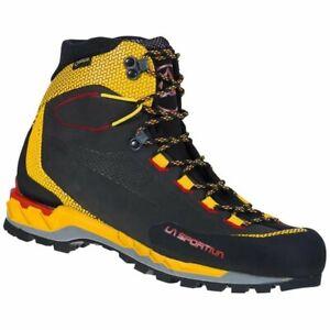 La Sportiva Trango Tech Ltr GTX black/yellow, chaussure de montagne homme