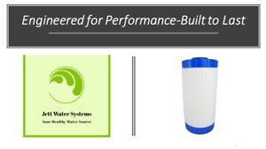 """KDF-85 Water Filter- Removal of Iron, Manganese, and Hydrogen Sulfide (4.5""""x10"""")"""