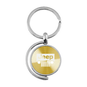 Grille Logo Spinner Keychain for Jeep - AUGDP0865