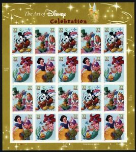 3915b, RARE Die Cutting Omitted ERROR Full Disney Pane With PSE - Stuart Katz