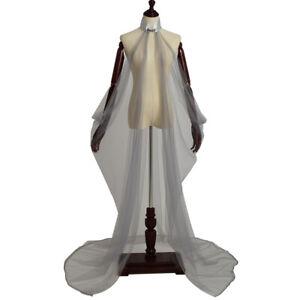 Vintage Women's Elven Cape Elf Fairy Wedding Dress Party Costume Cape 5 Colors