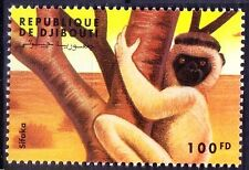 Djibouti MNH, Wild Animals, Sifaka. Lemur, Monkeys - G7