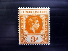 LEEWARD ISLANDS 1938 G.VI - 3d SG107 Mounted Mint NEW PRICE FP8050