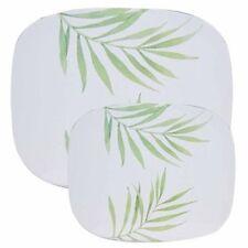 Reston Lloyd 22240 Bamboo Leaf Counter Stove Mat -small Set of 2
