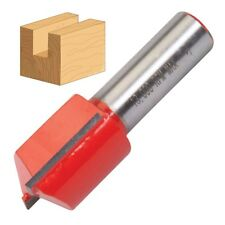 """1//2/"""" Inch Shank 22 x 25mm Straight Metric Cutter Bits Router TCT Twin Flute DIY"""
