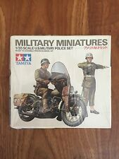 Tamiya Military Miniatures U.S. MILITARY POLICE SET 1/35 NIB 1976