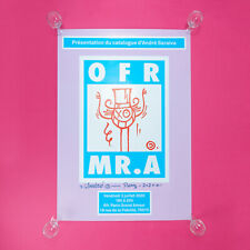 OFR x André Saraiva Poster Limited ed of 8. SOLD OUT (Signed)