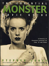Stephen Jones THE ESSENTIAL MONSTER MOVIE GUIDE Titan Books 1999 COME NUOVO