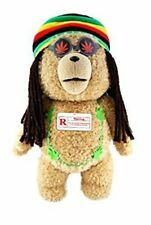 Ted Rastafarian 16-Inch Talking Plush Teddy Bear with Moving Mouth