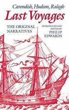 Last Voyages: Cavendish, Hudson, Ralegh: The Original Narratives-ExLibrary