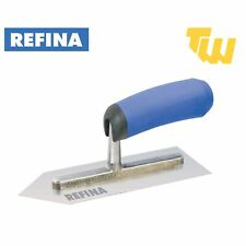 Refina Midget Trowel Pointed Stainless Steel 221026 Single Point Front Plaster