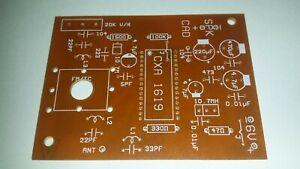 DIY FM Radio PCB using CXA 1619 / FM Radio PCB