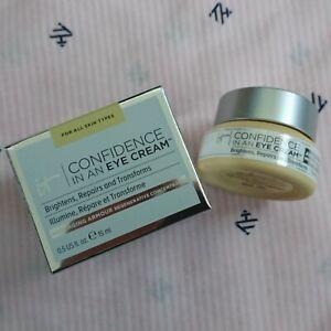 IT COSMETICS Confidence in an Eye Cream 0.5oz/15ml BRAND NEW