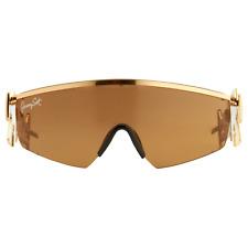 Jeremy Scott Sunglasses Shield Shiny Gold