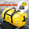 90L Motorcycle Rear Tail BagTouring Waterproof Dry Luggage Roll Pack Bag