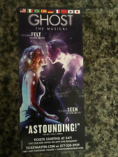 Ghost the musical  ad/flyer  Broadway NYC musical  Caissie Levy