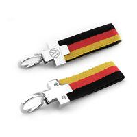 Flag VW GTI KEYRING GOLF POLO MK1 2 3 4 5 6 7 GTI key chain ring Keyring