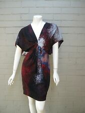 immaculate - Country Road size 4 (fits up to 6 8)  silk tunic dress batwing