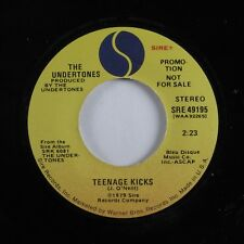 Punk 45 UNDERTONES Teenage Kicks SIRE VG+ promo HEAR