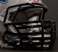 *CUSTOM* DETROIT LIONS Riddell SPEED Football Helmet Facemask - BLACK