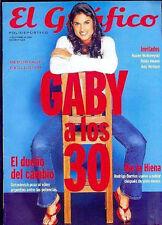 TENNIS GABRIELA SABATINI SEXY 30 Birthday Magazine 2000