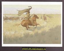 FREDERIC REMINGTON Change of Ownership (1903) ART ARTWORK PAINTING POSTCARD
