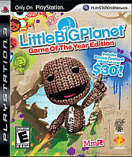 LittleBigPlanet Game of the Year Edition Greatest Hits PlayStation 3 PS3