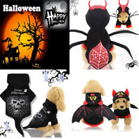 Happy Halloween Pet Dog Cat Sweater Costume Puppy Cosplay Coat Party Clothes New