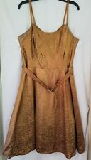 LANE BRYANT PROM/FORMAL DRESS NEW WITH TAGS BRONZE MISSES SIZE 16
