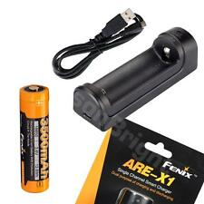 Fenix ARE-X1 Charger w/ARB-L18-3500 18650 rechargeable Li-ion 3500mAh battery