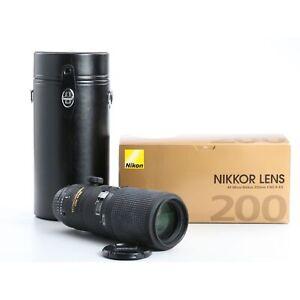 Nikon AF 4,0/200 Micro IF ED D + TOP (234485)