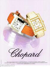 PUBLICITE ADVERTISING 046  2004  les montres Chopard
