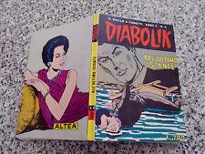 DIABOLIK ANNO X ORIGINALE N.3 DEL 1971 BELLISSIMO TIPO KRIMINAL SATANIK KILLING