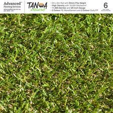 Artificial Turf Astro Turf Synthetic Grass 20mm 12 SQM Quad Colour Lawn Plastic