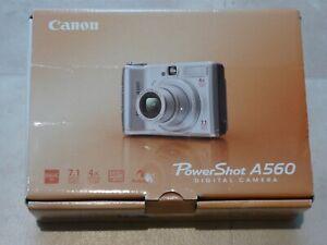 Canon PowerShot A560 7.1MP digital camera