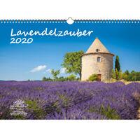 Lavendelzauber DIN A3 Kalender 2020 Lavendel - Seelenzauber