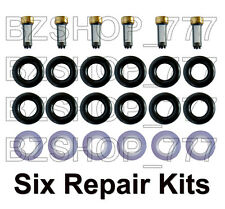 Six Fuel Injector Repair Kits for V6 00-07 Jaguar