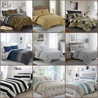Elegance 100% Egyptian Cotton Printed Duvet Cover Sets Bedding Sets All Sizes