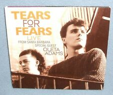 Tears for Fears Live From Santa Barbara  Rare Import CD 1989 Concert Oleta Adams