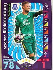 Match Attax 2016/17 Premier League - #092 Maarten Stekelenburg - Everton