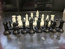 32pcs Plastic Chess Pieces Complete Set - (Pieces Only)