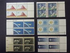1962 US Commemorative Plate Block Year Set Complete  #1191-1207   MNH OG