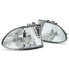 BMW 7-SERIES E38 ClLEAR TURN SIGNAL PAIR L+R 1998-2001