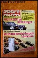Sport Auto 5/92 Porsche Turbo S Carrera RS BMW M5