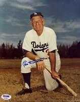 LEO DUROCHER SIGNED PSA/DNA CERTIFIED 8X10 PHOTO AUTHENTICATED AUTOGRAPH