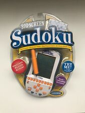 Radica BIG SCREEN SUDOKU Electronic Handheld Travel Portable Game 2005 Sealed