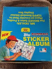 BOX OF 12 1981 Topps Baseball Sticker book unused Albums GEORGE BRETT ROYALS