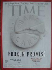 TIME MAGAZINE DECEMBER 2 2013 BROKEN PROMISE BY NANCY GIBBS KEPT LIKE NEW